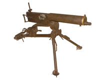 Old machine gun Royalty Free Stock Images