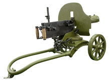 Old machine gun Royalty Free Stock Image