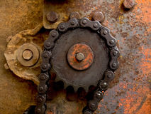 Old machine industry background Royalty Free Stock Image