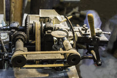 Old machine stock photos