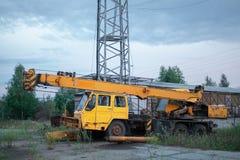 Old machine. Mechanism. Russia, Taganai royalty free stock photos