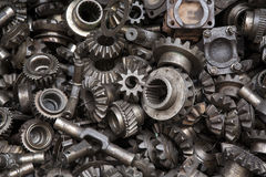 Old machine parts background stock photos