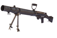 Old Machinegun Stock Photo