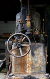 Old machinery. A piece of old and rusty machinery Stock Image