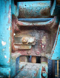 Old machinery closeup Royalty Free Stock Photos