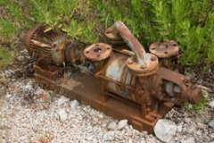 Old machinery Stock Image
