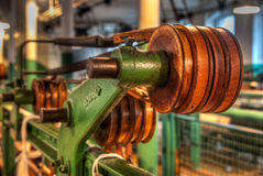 Old Machinery Shown in Clseup Royalty Free Stock Image