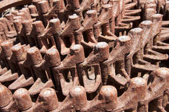 Old Machinery Tracks Royalty Free Stock Image