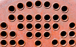 Old Machinery Vent Holes Royalty Free Stock Images