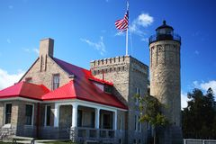 Old Mackinac Lighthouse Royalty Free Stock Image