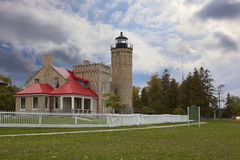Old Mackinac Lighthouse Stock Images