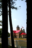 Old Mackinac Point Light Stock Photo