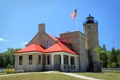 Old Mackinac Point Lighthouse Royalty Free Stock Photos
