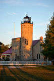 Old Mackinac Point Lighthouse Stock Photo