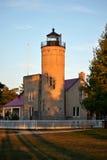 Old Mackinac Point Lighthouse Stock Photo
