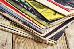 Old magazines Stock Photo