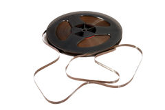 Old magnetic tape Royalty Free Stock Image