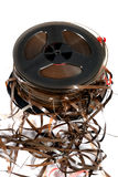 Old magnetic tapes Royalty Free Stock Image