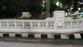 The old Mahatthai Uthit Bridge Stock Photography