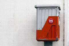 An old mail box Royalty Free Stock Image