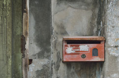 Old mail box Royalty Free Stock Photo