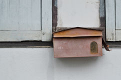 Old mail box Royalty Free Stock Photos