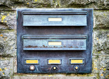 Old mail slot Stock Photography