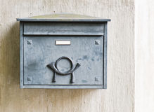 Old mailbox on a building wall Royalty Free Stock Photography