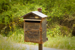 Old mailbox Stock Image