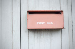 Old mailbox Royalty Free Stock Photography