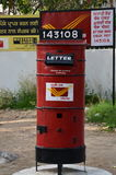 Old mailbox in India Stock Image