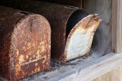 Old mailbox royalty free stock photos