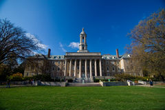Old Main. Penn State Campus Old Main Administrative building Stock Images