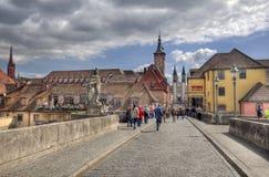 Old Main Bridge Wurzburg, Germany Royalty Free Stock Photo