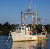 Old Maine Fishing Trawler Royalty Free Stock Images