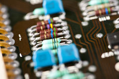 Old mainframe controller board Royalty Free Stock Photos