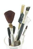 Old Makeup Brush Royalty Free Stock Photos