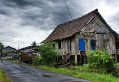 Old malay house Stock Photography