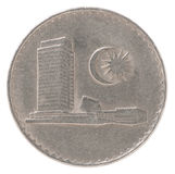Old Malaysian coin Royalty Free Stock Photography