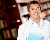 Old male student Royalty Free Stock Photo