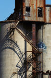 Old malt plant 12 Royalty Free Stock Images