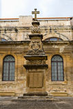 Old Malta Church and Monument Royalty Free Stock Image
