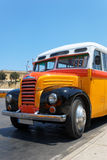 Old Maltese Bus (1952) royalty free stock images