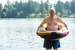 fa7923c854 Shirtless Old Man Swimming Trunks Stock Images - Download 7 Royalty ...