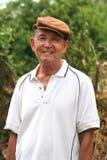 Old man. Chinese old man smiling Royalty Free Stock Image