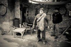 Old man of Amritsar, Punjab, India Stock Photos