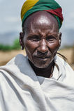 Old man from Arbore Tribe Stock Images
