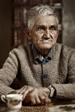 Old man closeup Royalty Free Stock Images
