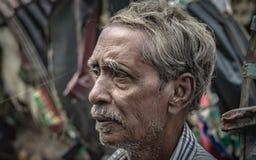 Old Man Lifestyle In Bangladesh royalty free stock photos