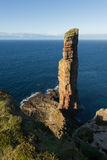 The Old Man of Hoy, sea stack on the island of Hoy Royalty Free Stock Photos